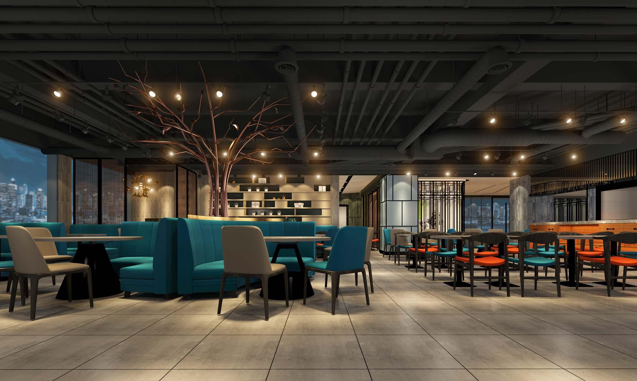 郑州餐饮设计风格图片