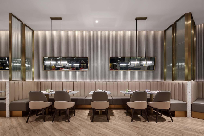 <strong>郑州茶餐厅设计装修效果图片</strong>