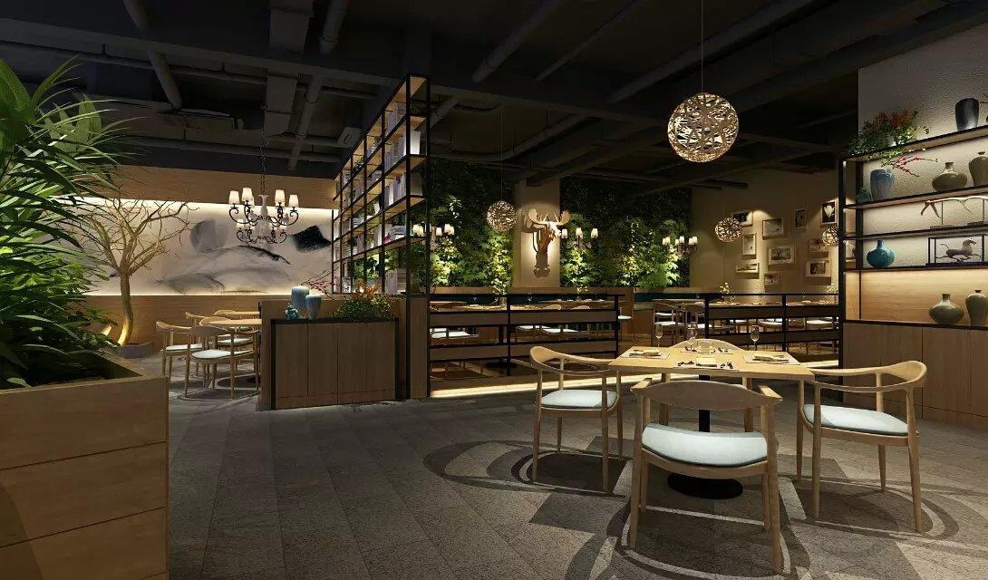 郑州餐厅装修设计效果图